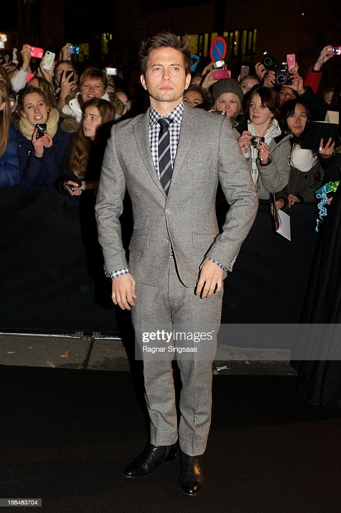 <a gi-track='captionPersonalityLinkClicked' href=/galleries/search?phrase=Jackson+Rathbone&family=editorial&specificpeople=4070053 ng-click='$event.stopPropagation()'>Jackson Rathbone</a> attends the Norway Premiere of The Twilight Saga: Breaking Dawn Part 2 at Colosseum on November 15, 2012 in Oslo, Norway.