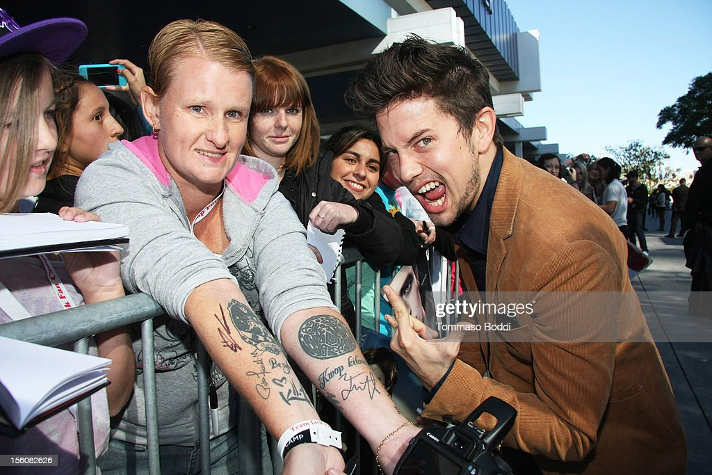 <a gi-track='captionPersonalityLinkClicked' href=/galleries/search?phrase=Jackson+Rathbone&family=editorial&specificpeople=4070053 ng-click='$event.stopPropagation()'>Jackson Rathbone</a> attends the Twilight fan camp breakfast at L.A. LIVE on November 11, 2012 in Los Angeles, California.