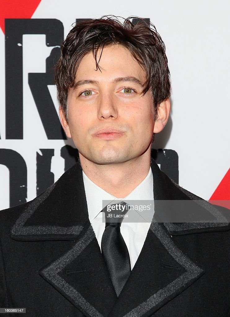 Jackson Rathbone attends the 'Warm Bodies' premiere held at ArcLight Cinemas Cinerama Dome on January 29, 2013 in Hollywood, California.