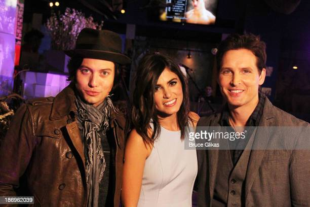 Jackson Rathbone Nikki Reed and Peter Facinelli attend the Opening of The Twilight Forever Fan Experience Exhibit featuring priceless memorabilia at...