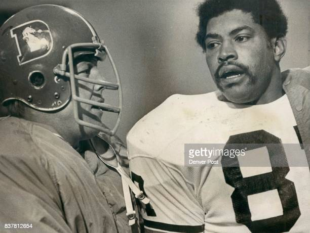 Jackson Rich Former teammates Rich Jackson now of Cleveland and Fred Forsberg of Denver talk after DenverCleveland game in Denver Jackson a longtime...