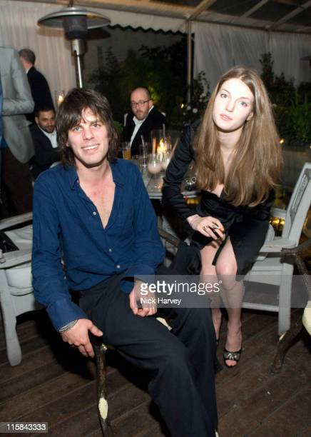 Jackson Scott and Ben Grimes during Suka Restaurant at Sanderson Hotel Reopening Party at Suka in London Great Britain