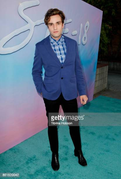 Jackson White attends the premiere of 'SPF18' at University High School on September 21 2017 in Los Angeles California