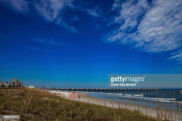 Jacksonville Beach, Florida and the Pier