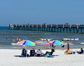 'Jacksonville Beach, Florida Pier'