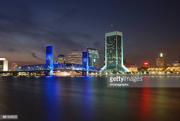 Jacksonville Florida Downtown at River Front