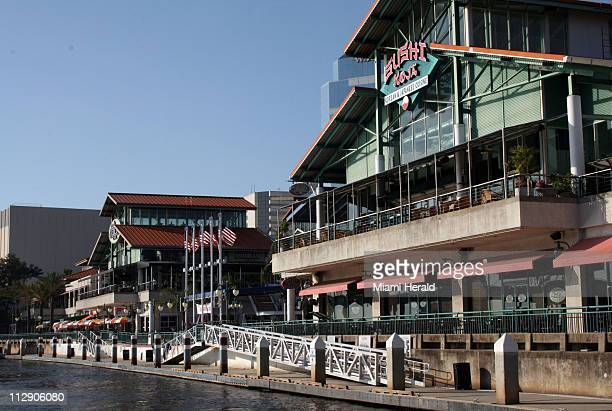 Jacksonville Landing is a dining and entertainment complex on the St Johns River in Jacksonville Florida