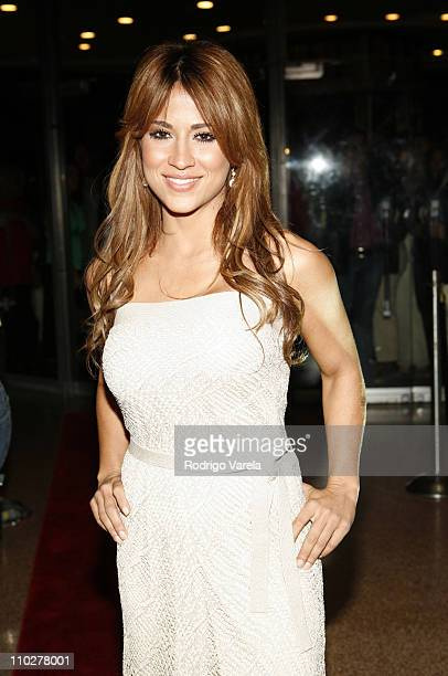 Jacky Guerrido during 'Visa para un Sueno' Miami Premiere at Miracle Theater in Miami Florida United States