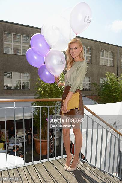 Jacky Hide attends the Gala Fashion Brunch at Ellington Hotel on July 11 2014 in Berlin Germany