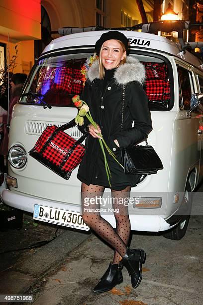 Jacky Hide attends the Woolrich Store Opening on November 25 2015 in Berlin Germany