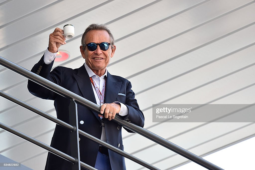 <a gi-track='captionPersonalityLinkClicked' href=/galleries/search?phrase=Jacky+Ickx&family=editorial&specificpeople=727846 ng-click='$event.stopPropagation()'>Jacky Ickx</a> attends the F1 Grand Prix of Monaco - Practice on May 28, 2016 in Monte-Carlo, Monaco.