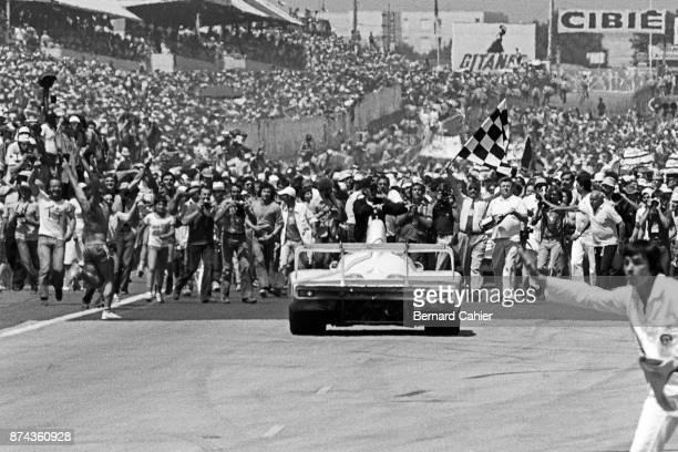 Jacky Ickx Derek Bell Porsche 936/81 24 Hours of Le Mans Le Mans 14 June 1981 Victory for Jacky Ickx and Derek Bell in the 1981 24 Hours of Le Mans