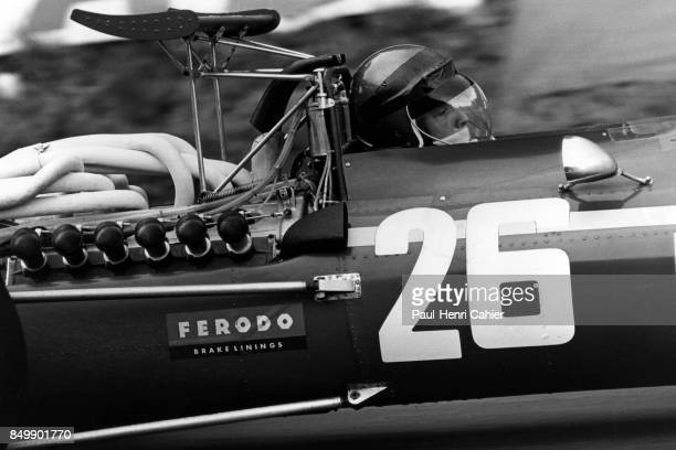Jacky Ickx Ferrari 312 Grand Prix of France RouenLesEssarts France July 7 1968