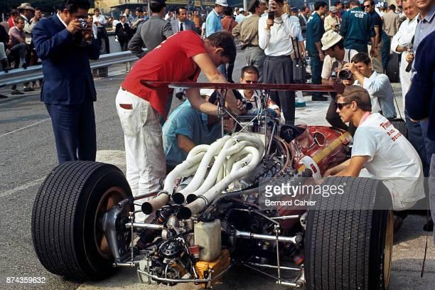 Jacky Ickx Ferrari 312 Grand Prix of Italy Autodromo Nazionale Monza 08 September 1968