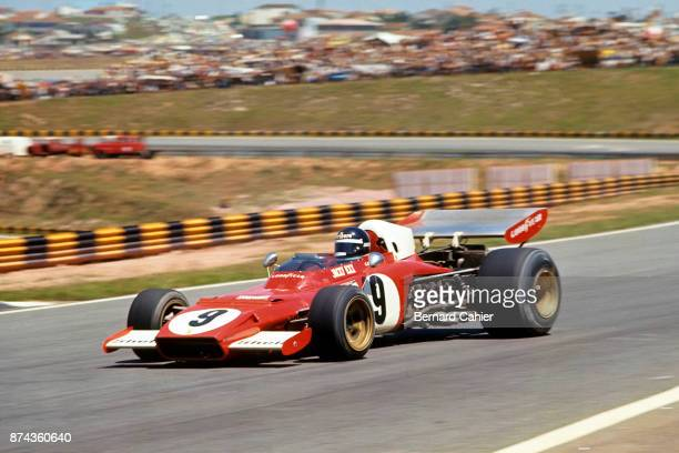 Jacky Ickx Ferrari 312B2 Grand Prix of Brazil Interlagos 11 February 1973
