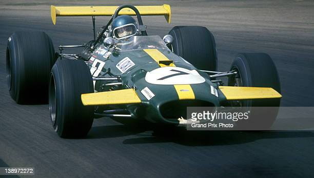 Jacky Ickx of Belgium driving the Motor Racing Developments Brabham BT26A Ford V8 during the XXII RAC British Grand Prix on 20th July 1969 at the...