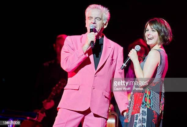 Jacky Jakubowicz and Coralie Caulier at Helene Rolles Concert at L'Olympia on January 6 2012 in Paris France