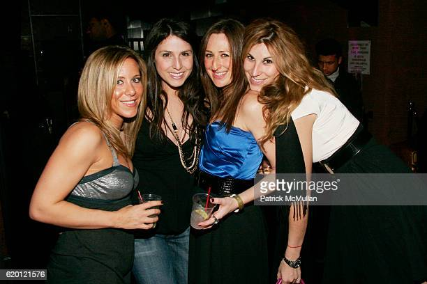 Jaclyn Savar Adina Birnbaum Jen Weinberg and Korin Katzen attend ASMALLWORLD End Of Fashion Week Party At The Opening Of MANSION NY at Mansion on...