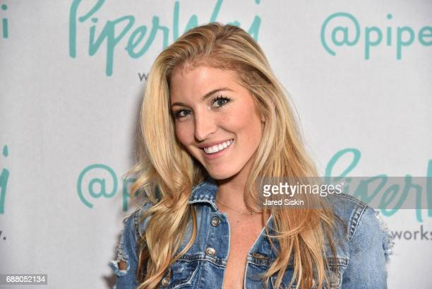Jaclyn Shuman attends PiperWai NYC Launch Event at Vnyl on May 24 2017 in New York City
