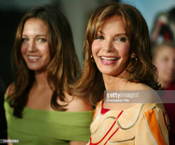 Jaclyn Smith and daughter during Premiere of 'Charlie's Angels Full Throttle' at Grauman's Chinese Theatre in Hollywood California United States