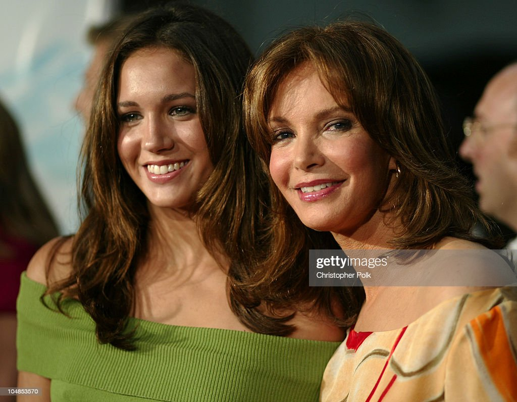 <a gi-track='captionPersonalityLinkClicked' href=/galleries/search?phrase=Jaclyn+Smith&family=editorial&specificpeople=211283 ng-click='$event.stopPropagation()'>Jaclyn Smith</a> (right) and daughter during Premiere of 'Charlie's Angels: Full Throttle' at Grauman's Chinese Theatre in Hollywood, California, United States.