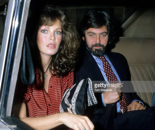 Jaclyn Smith and husband Tony Richmond during Jaclyn Smith Sighting in London August 10 1981 in London Great Britain