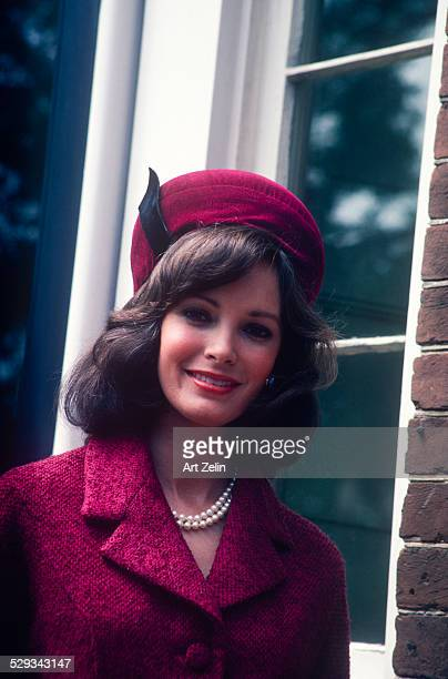 Jaclyn Smith as Jackie Kennedy for the movie 'Jackie Bouvier Kennedy' 1981