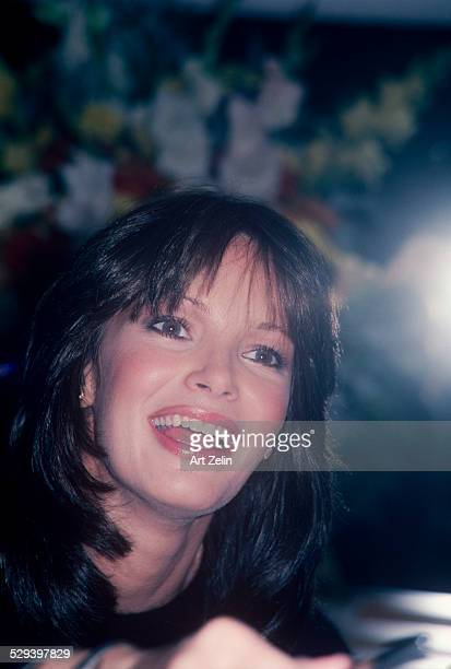 Jaclyn Smith closeup smiling circa 1970 New York