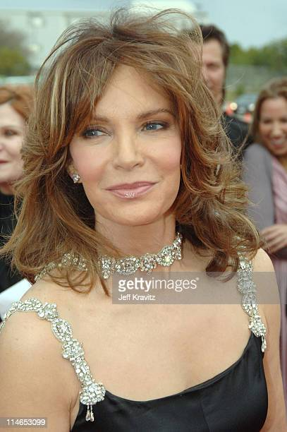 Jaclyn Smith during 2005 TV Land Awards Red Carpet at Barker Hangar in Santa Monica California United States