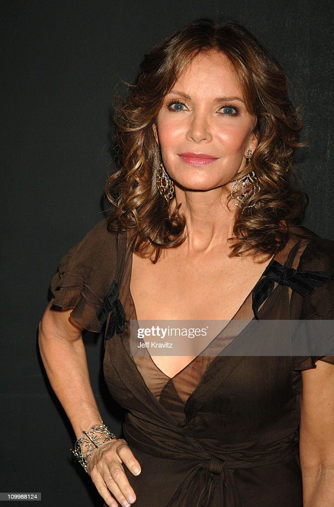 Jaclyn smith during 58th annual primetime emmy awards backstage at