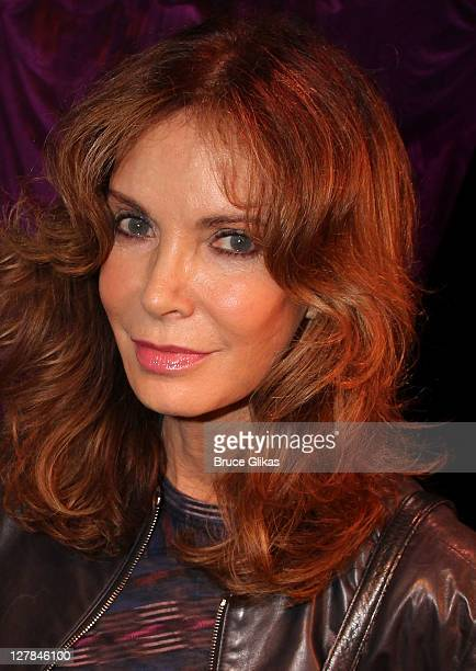 Jaclyn Smith poses backstage at the hit play 'Love Loss and What I Wore' at The West Side Theater on October 1 2011 in New York City
