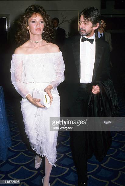 Jaclyn Smith with her husband Tony Richmond during Jaclyn Smith Sighting September 8 1983 in London Great Britain