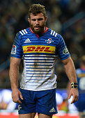 Jaco Taute of the Stormers during the Super Rugby Quarter Final match between the DHL Stormers and Chiefs at DHL Newlands on July 23 2016 in Cape...