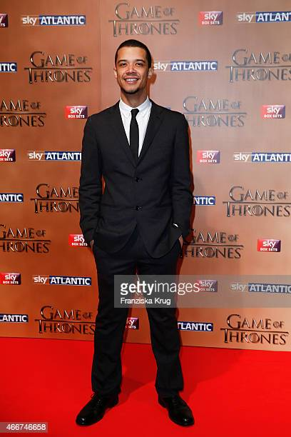 Jacob Anderson arrives at the Tower of London for the world premiere of Game of Thrones S5 which starts on April 12 on Sky in Germany and Austria on...