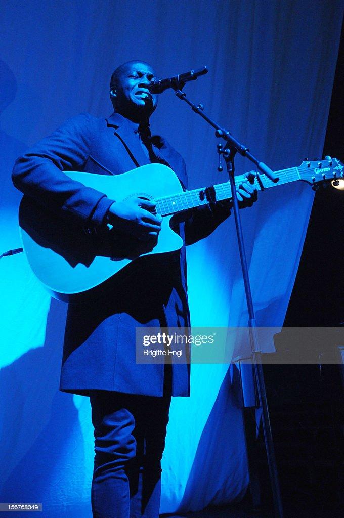 Jacob Banks performs on stage at KOKO on November 20, 2012 in London, United Kingdom.