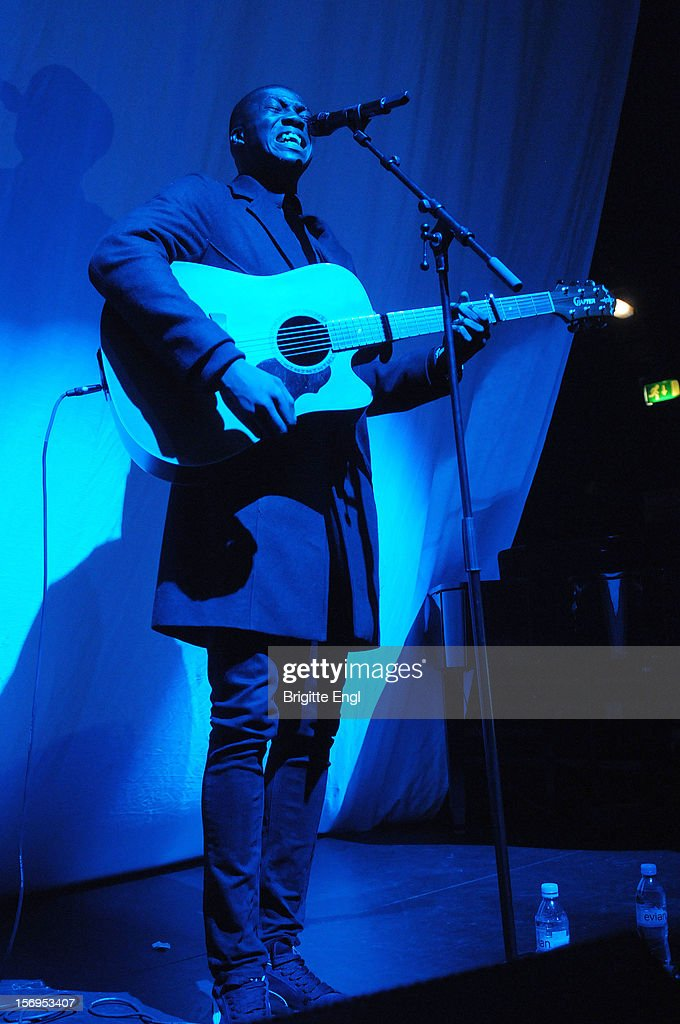 Jacob Banks performs on stage at KOKO on November 20, 2012 in London, United Kingdom.