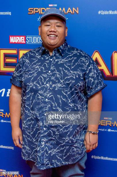 Jacob Batalon attends 'Spiderman Homecoming' New York First Responders' screening at Henry R Luce Auditorium at Brookfield Place on June 26 2017 in...