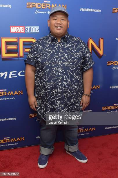 Jacob Batalon attends the 'Spiderman Homecoming' New York First Responders' Screening at Henry R Luce Auditorium at Brookfield Place on June 26 2017...