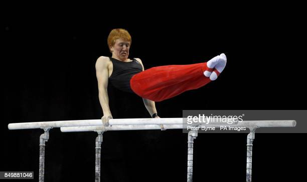 Jacob Beaumont from Southport YMCA Competitive competes in the MAG Senior's during the British Championships at the Echo Arena Liverpool