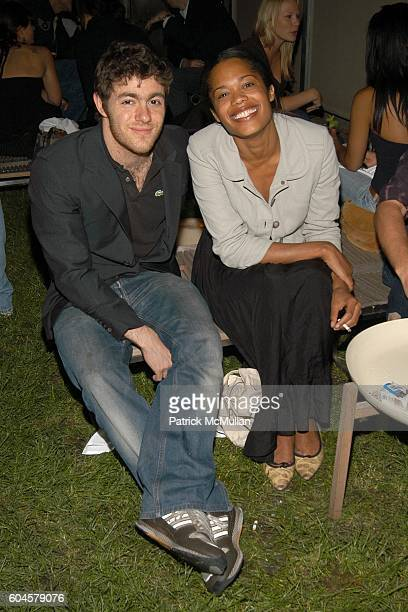 Jacob Bernstein and Bonnie Morrison attend THE CINEMA SOCIETY HUGO BOSS present the premiere of 'ALLEGRO' at Tribeca Grand and Soho Grand on June 14...