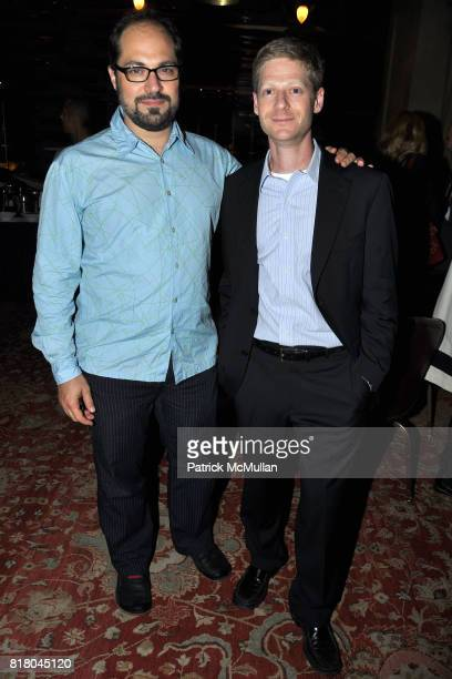 Jacob Braybroft and Robert Kessel attend After Party for the Premiere of JACK GOES BOATING at New York Yacht Club on September 16 2010 in New York...