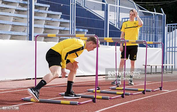 Jacob Bruun Larsen of Borussia Dortmund during the seventh day of the training camp in Marbella on January 11 2017 in Marbella Spain