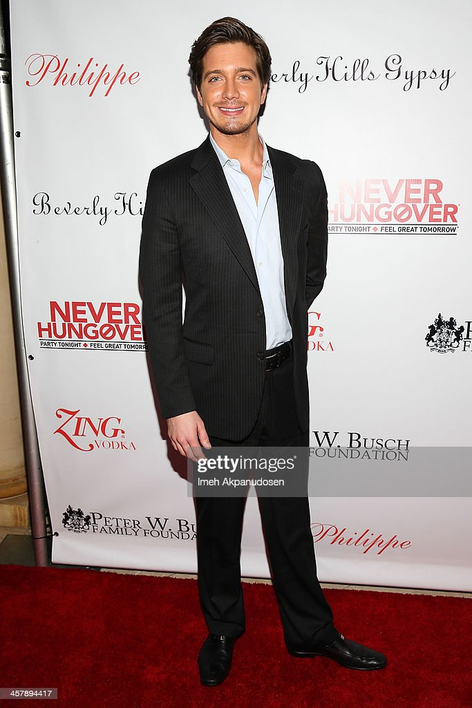 Jacob Busch attends The Maloof Foundation And Jacob's Peter W. Busch Family Foundation hosting a holiday toy donation For Children's Hospital on December 18, 2013 in Beverly Hills, California.