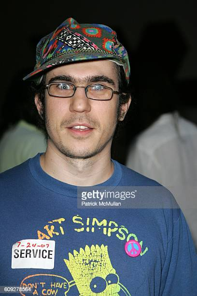 Jacob Ciocci attends MoMa and PS1's POP RALLY Presents an Evening with ARTIST COLLECTIVE PAPER RAD Featuring CORY ARCANGEL at MoMa on July 24 2007 in...