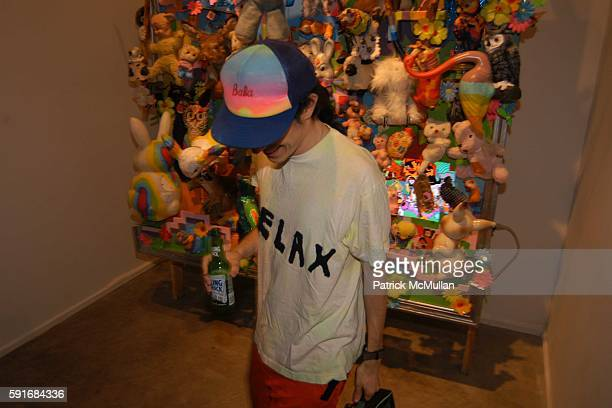 Jacob Ciocci attends New Museum Hosts Opening Reception for Aernout Mik's Refraction Rhizome Artbase 101 at New Museum Of Contemporary Art on June 22...