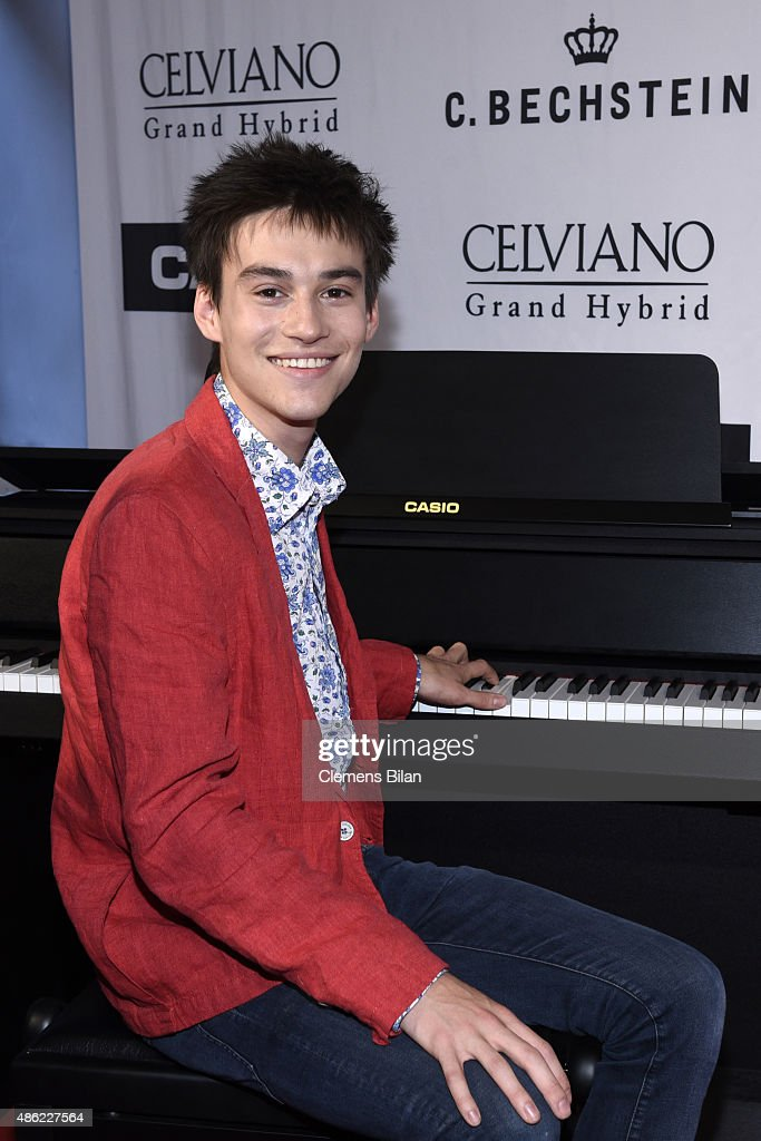 Jacob Collier during the 'Casio Celviano Grand Hybrid Digital Piano Launch Gala' at Meistersaal on September 2 2015 in Berlin Germany