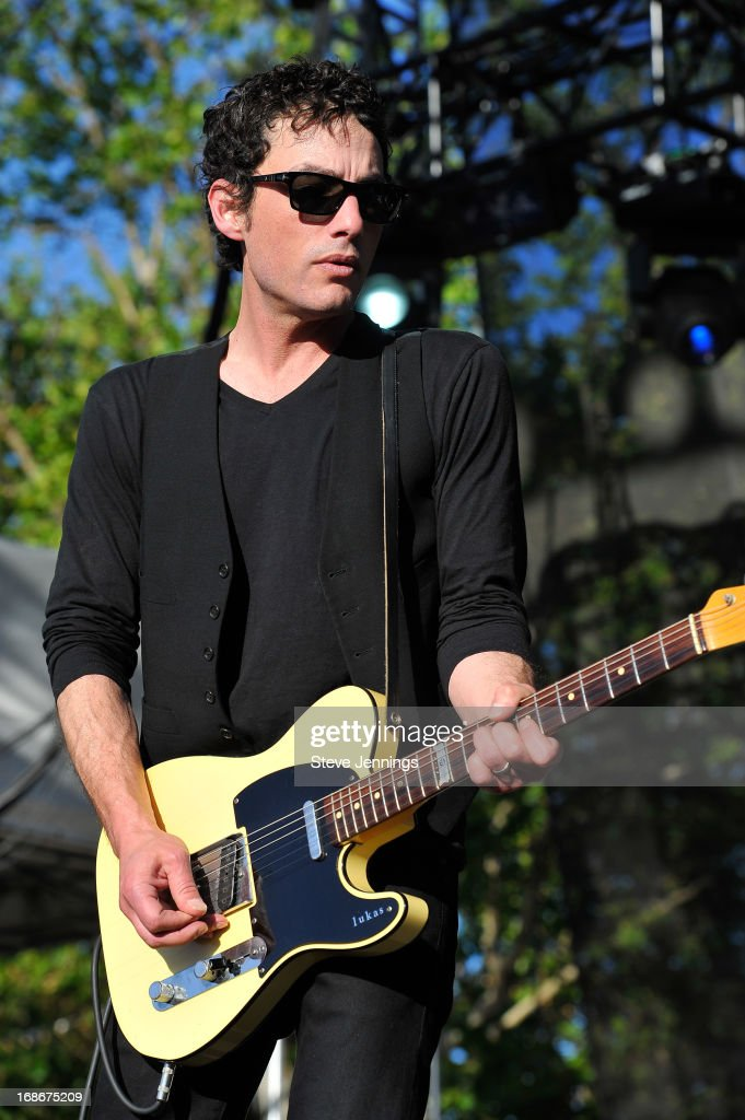 Jacob Dylan of The Wallflowers performs at Bottle Rock Napa Valley Festival at Napa Valley Expo on May 12, 2013 in Napa, California.