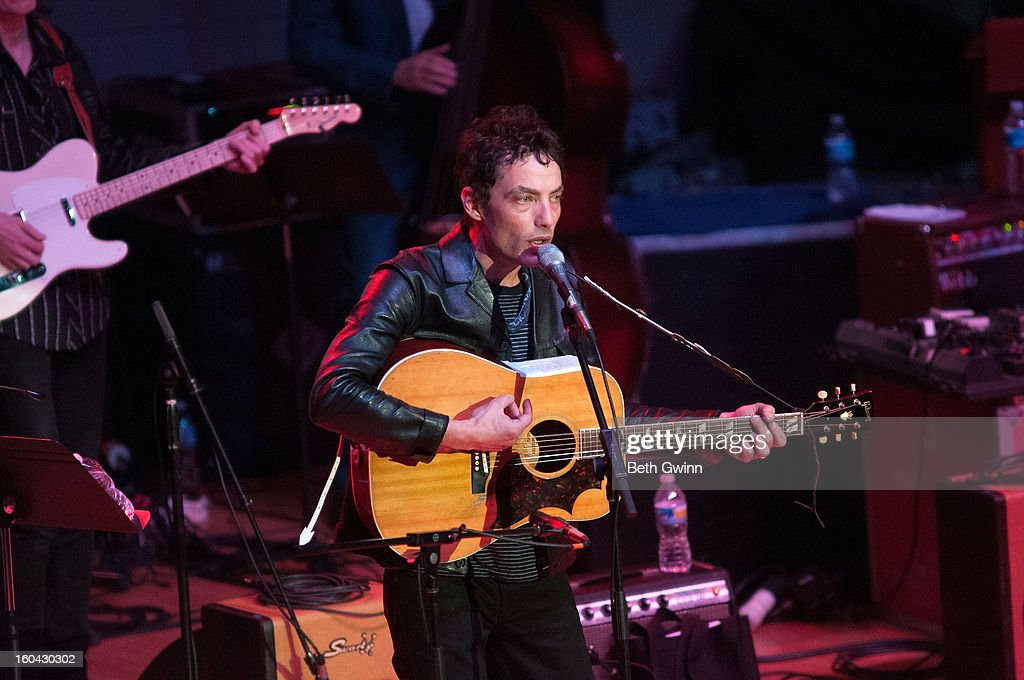Jacob Dylan performs during the Tribute to Cowboy Jack Clement at War Memorial Auditorium on January 30, 2013 in Nashville, Tennessee.