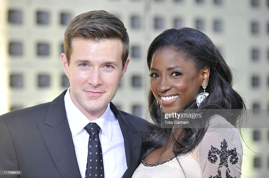 Jacob Fishel and Rutina Wesley arrives for the premiere of HBO's 'True Blood' held at the Arclight Cinerama Dome on June 21, 2011 in Los Angeles, California.