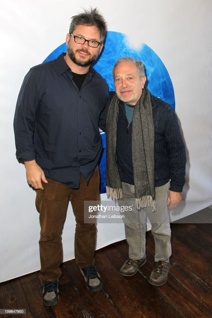 Jacob Kornbluth and Robert Reich attend Day 3 of the Variety Studio At 2013 Sundance Film Festival on January 21, 2013 in Park City, Utah.